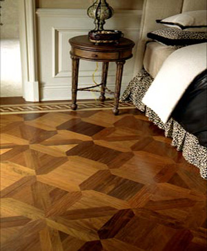 Walnut Flooring Pattern